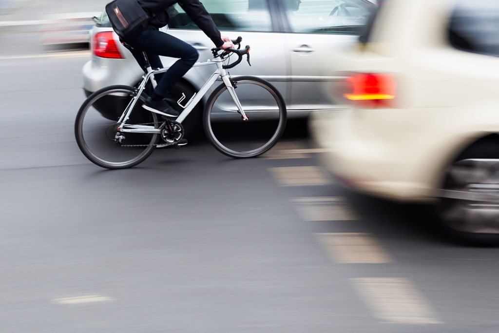 Driving with cyclists